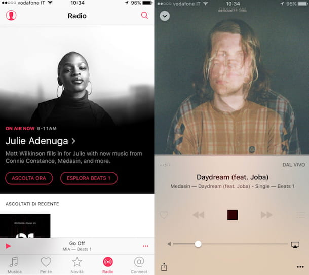 Come ascoltare la radio su iPhone