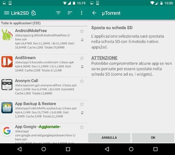 Come Spostare Applicazioni Android Su Sd Salvatore Aranzulla
