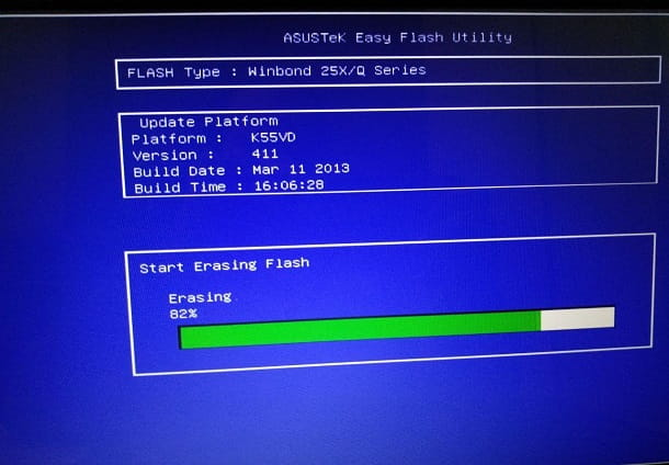 Come aggiornare il BIOS