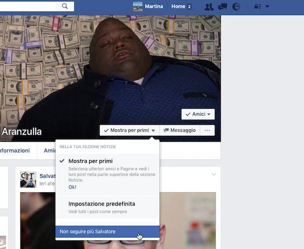 Come eliminare amici da Facebook
