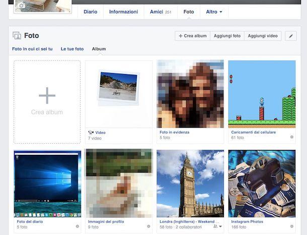 interi album facebook