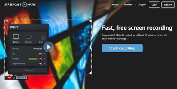 Come filmare lo schermo del PC