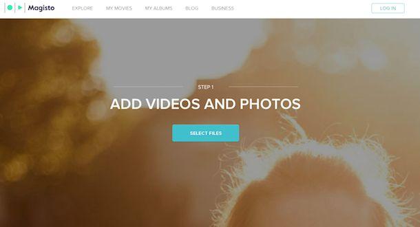 Programmi per creare video con foto
