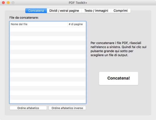 Come modificare file PDF