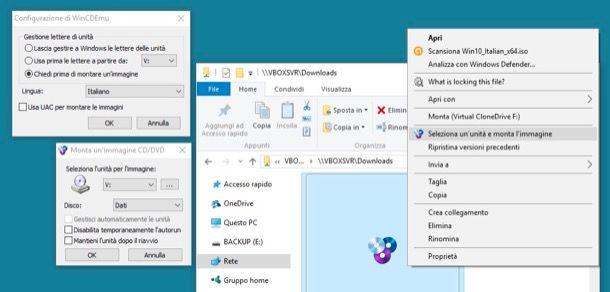Come aprire file ISO