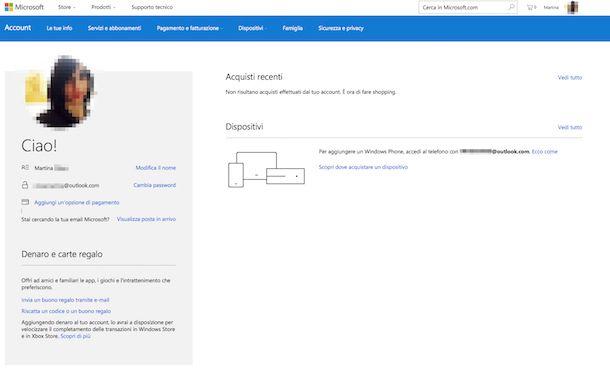 Come creare indirizzo email