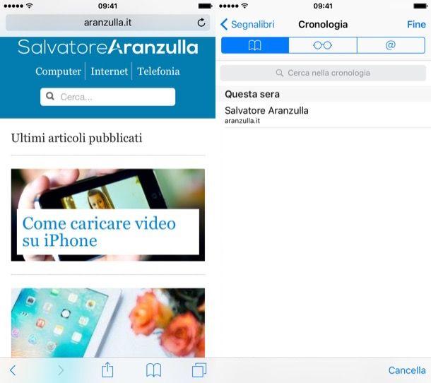 [BYA Tips] Come visualizzare la cronologia di navigazione di Safari, su iPhone, iPad e iPod Touch