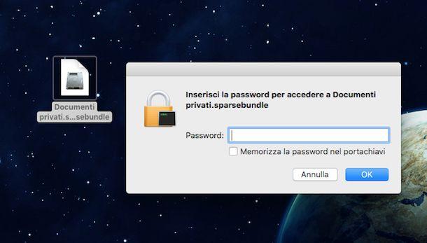 Come mettere la password ad una cartella
