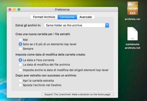 Come estrarre file RAR Mac | Salvatore Aranzulla