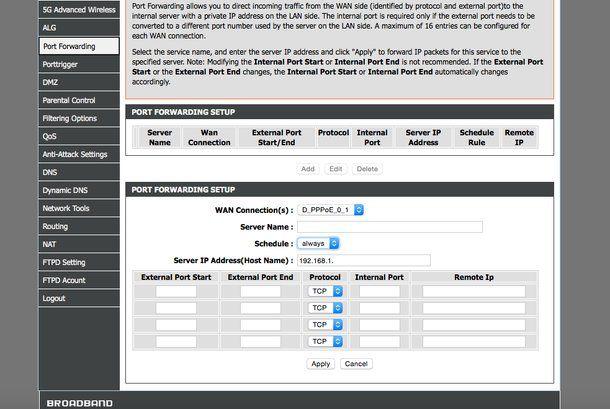 Come aprire le porte del router per uTorrent