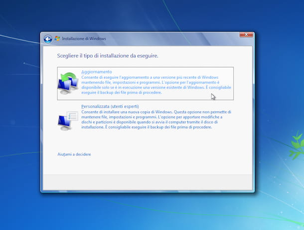 Come ripristinare Windows 7
