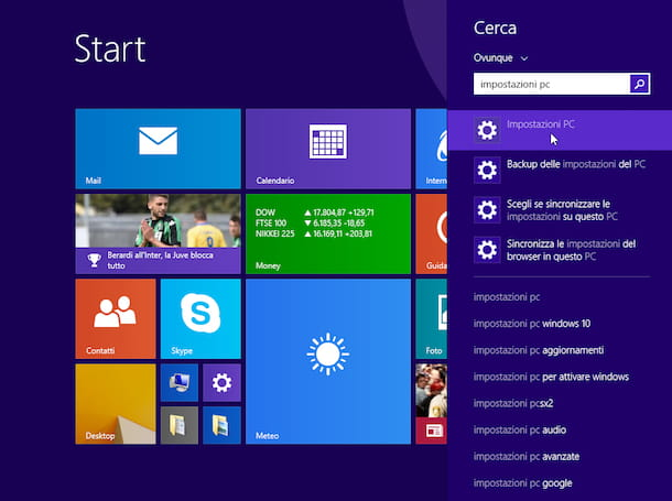 Come ripristinare Windows 8