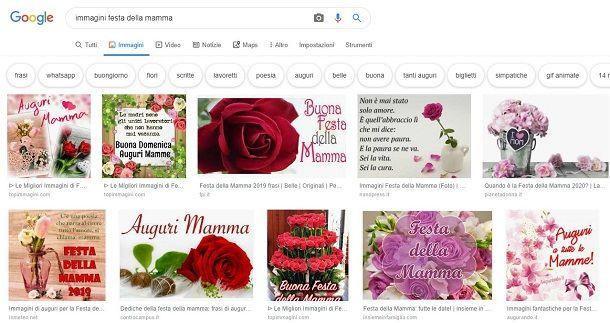Scaricare immagini Festa della Mamma