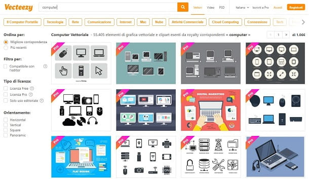 Scaricare immagini gratis da Vecteezy