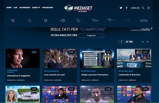 Come guardare partite in streaming