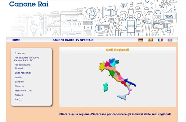 Canone Rai Speciale