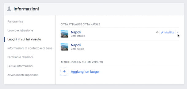 Come eliminare account Facebook definitivamente