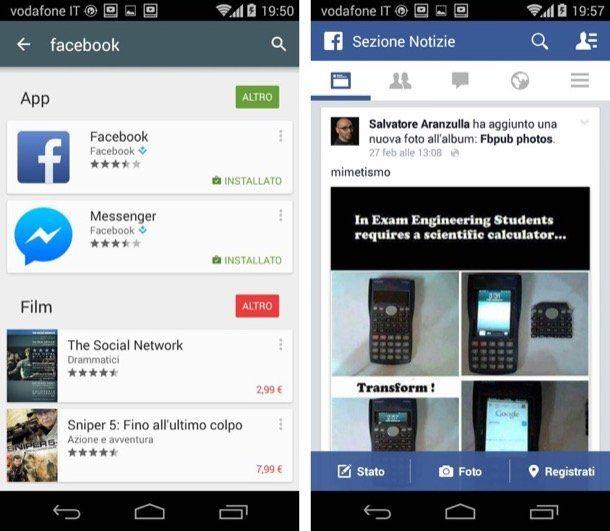 Come scaricare Facebook per Android