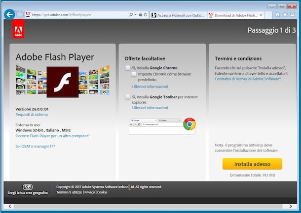 Come scaricare Flash Player