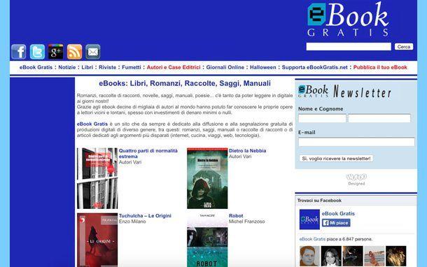 Come scaricare libri PDF