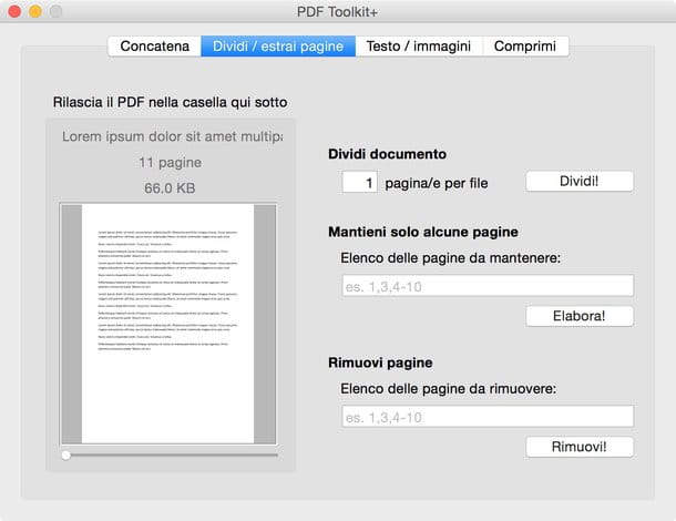 Come modificare PDF Mac