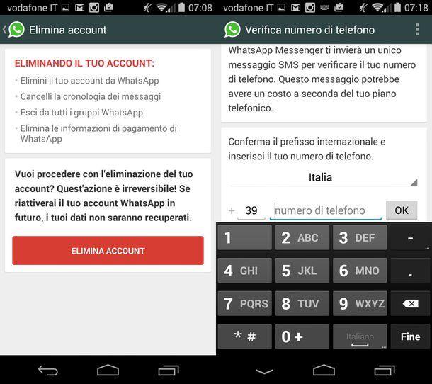 Come non pagare WhatsApp
