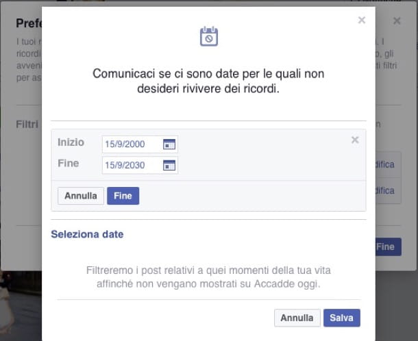 Come cancellare cronologia Facebook