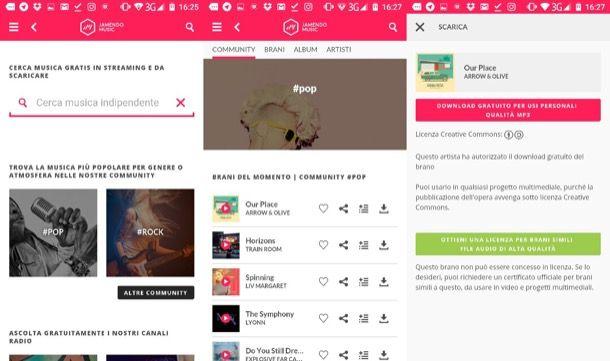 Come scaricare musica gratis Android