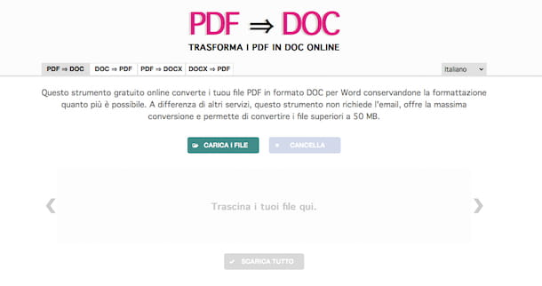 Come trasformare un file PDF in Word