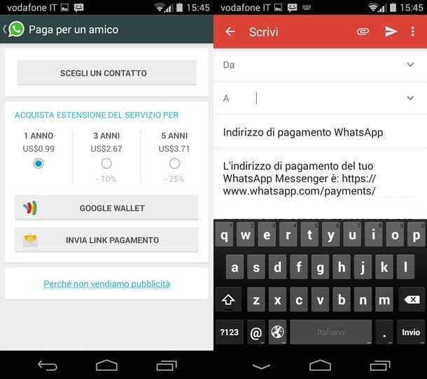 Come rinnovare WhatsApp gratis