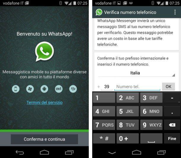 come funziona whatsapp messenger scopate con transessuali