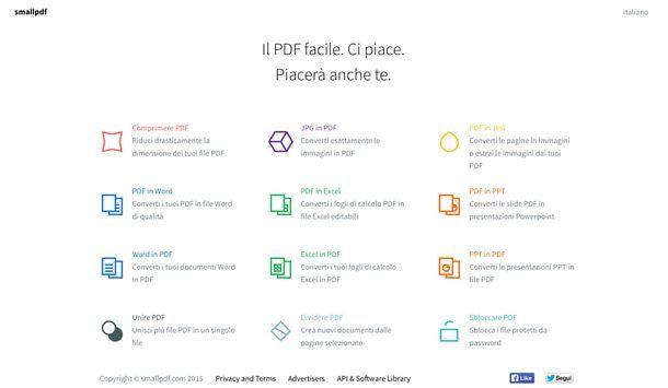 Come trasformare un file in PDF