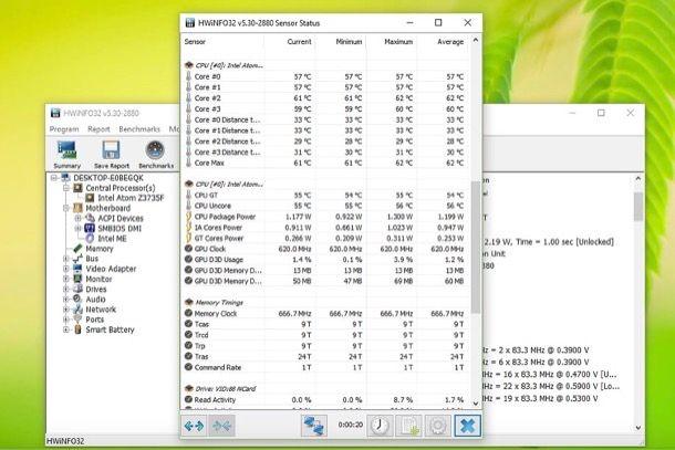 Come monitorare temperatura CPU
