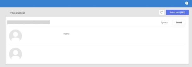 Come sincronizzare contatti iPhone con Gmail