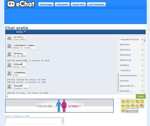 Screensot eChat