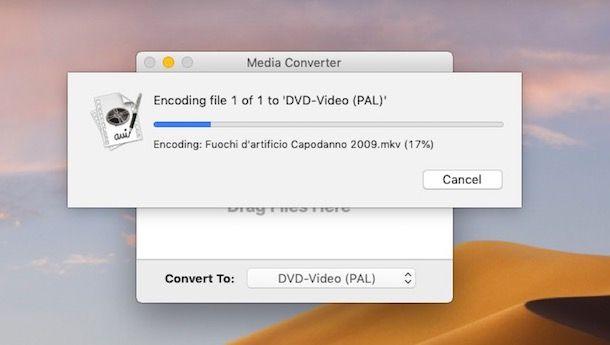 Come convertire MKV in DVD