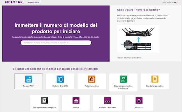 Come accedere al router