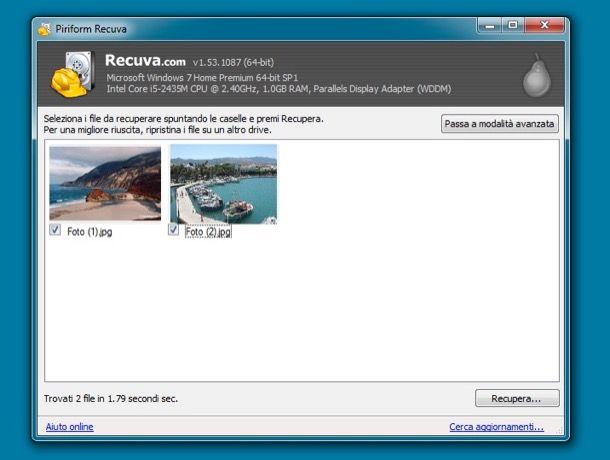 programma gratis per recuperare foto cancellate da sd