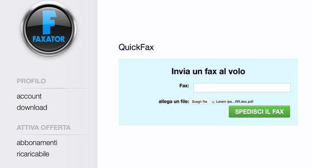 come inviare fax online gratis salvatore aranzulla