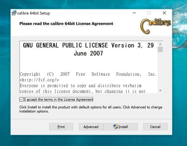 Come trasformare ePub in PDF