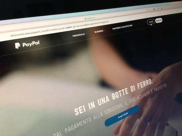 Come ricaricare Postepay con PayPal