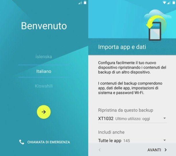 Come formattare Android