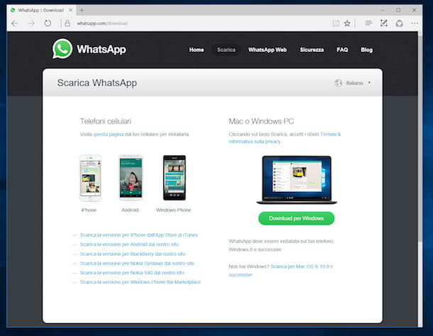 Come installare WhatsApp su PC