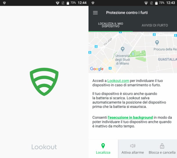 Lockout su Android