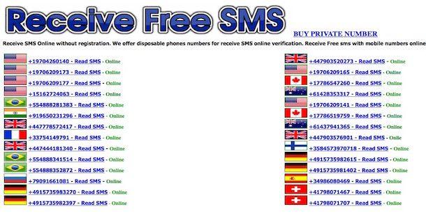 Come ricevere SMS online | Salvatore Aranzulla