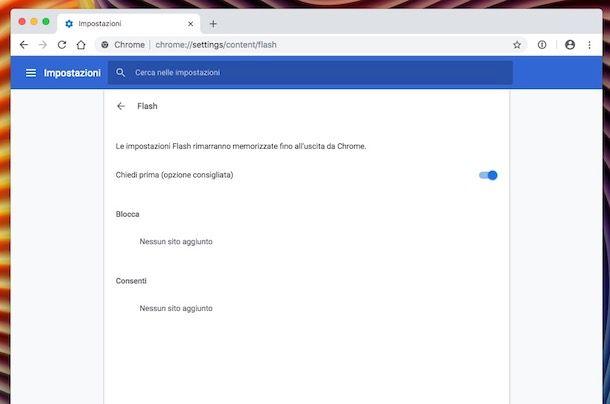 Come installare Flash Player