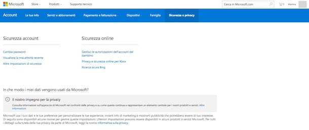 Come eliminare account Hotmail