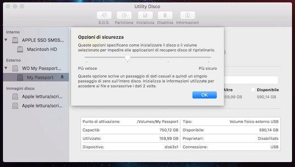 Come formattare hard disk esterno
