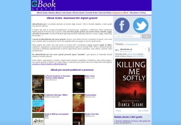 libri in formato epub gratis