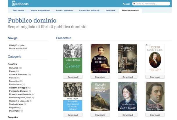 Come scaricare libri PDF gratis